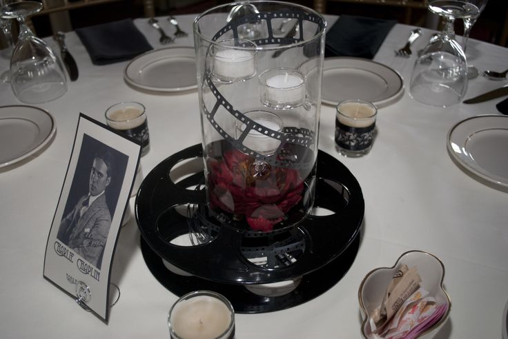 Best images about movie themed wedding centerpieces on