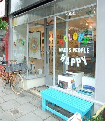 Colour Makes People Happy   London
