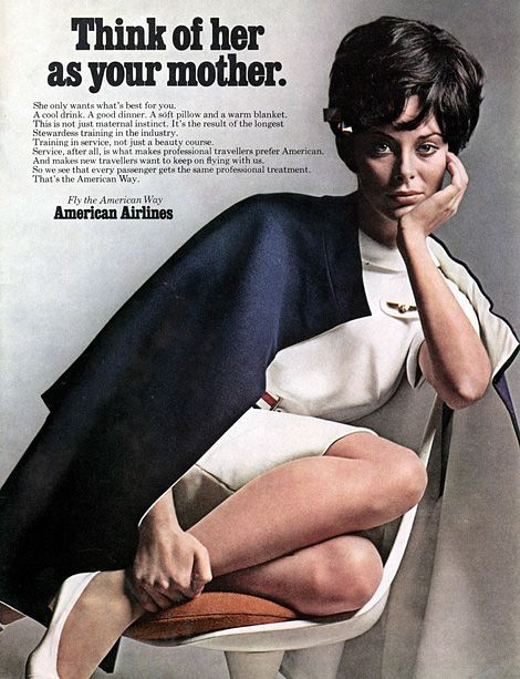 American Airlines ad c.1968.