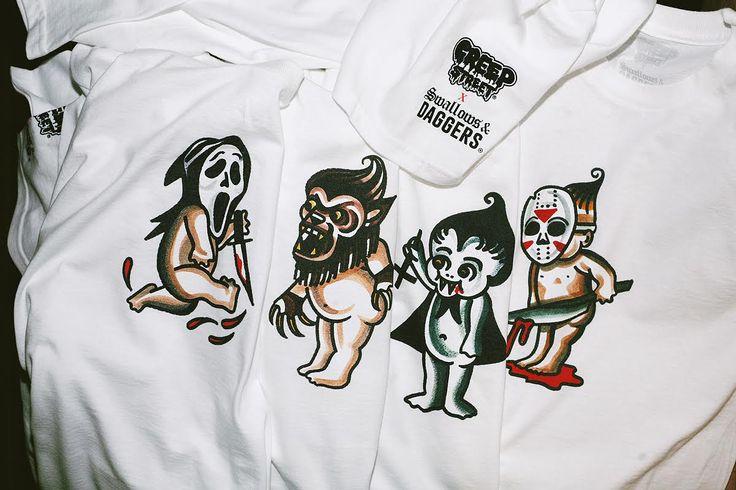 Creep Street x S&D. Horror Kewpies Capsule.