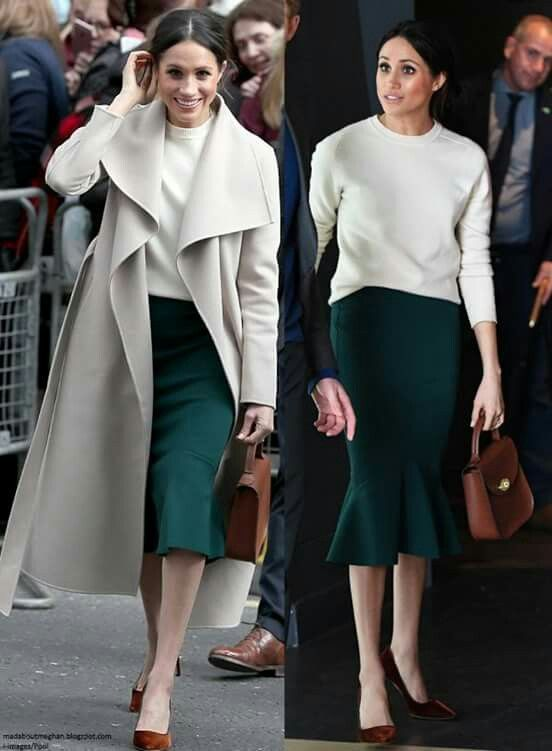 6fbd2f1f97bc I bet she loves Green | Muse in 2019 | Meghan markle style, Fashion ...