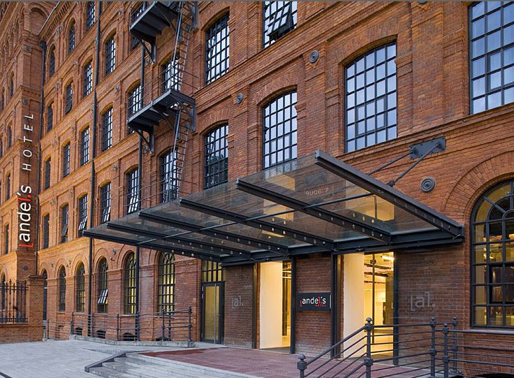 Revitalised Industrial Architecture Becomes andel's Hotel Łód, Poland