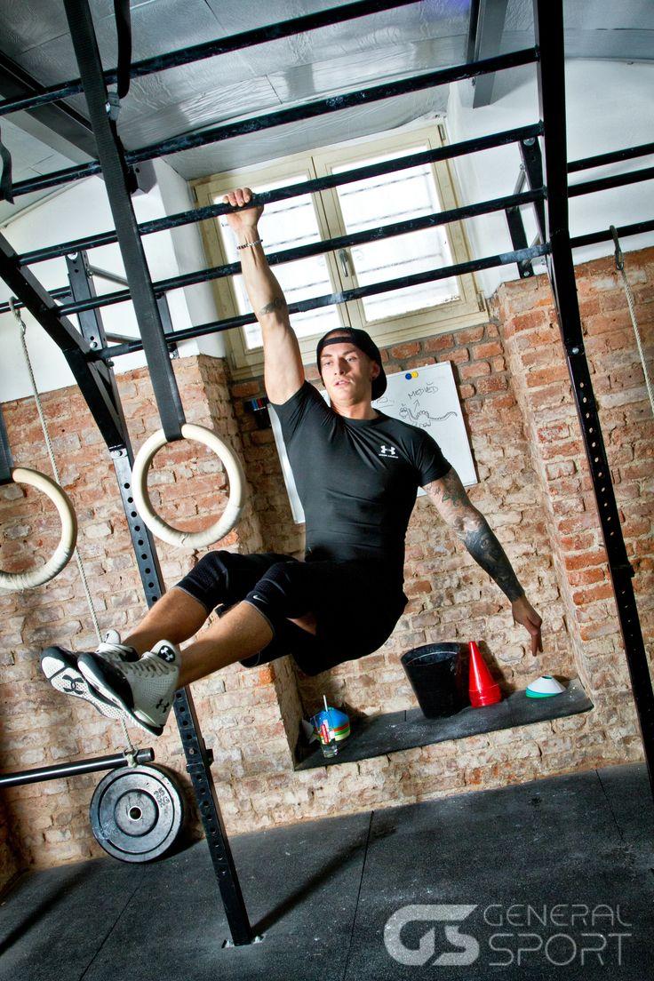 Zakladatel a majitel Spartan Gym, Martin Svoboda, obléká Under Armour