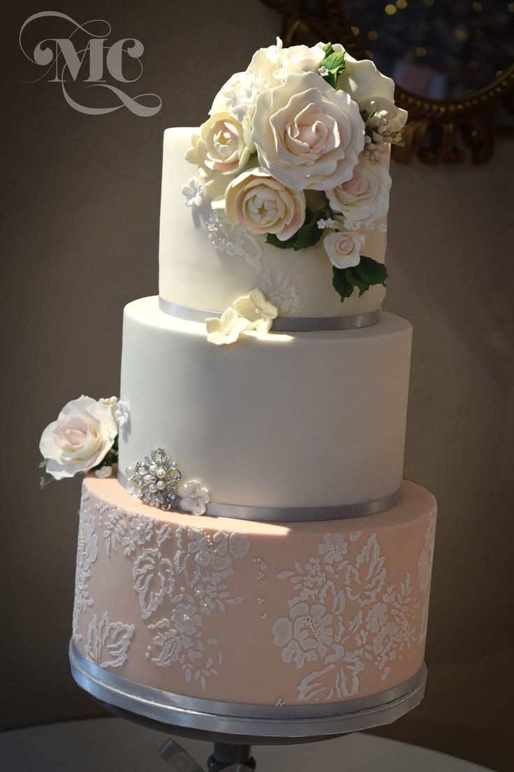 blush pink and grey wedding cake best 25 luxury wedding cake ideas on pastel 12042