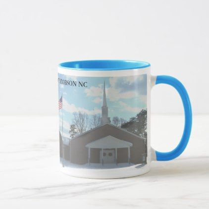 MOUNT HERMON BAPTIST CHURCH DOBSON NC MUG - home gifts ideas decor special unique custom individual customized individualized