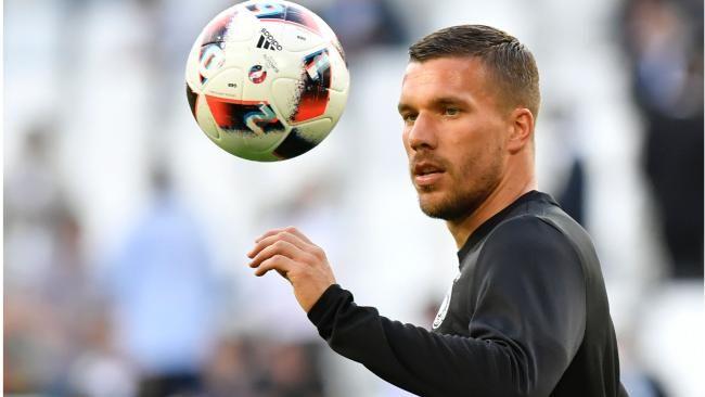 Lukas Podolski hat 129 Spiele für die Nationalmannschaft auf Konto
