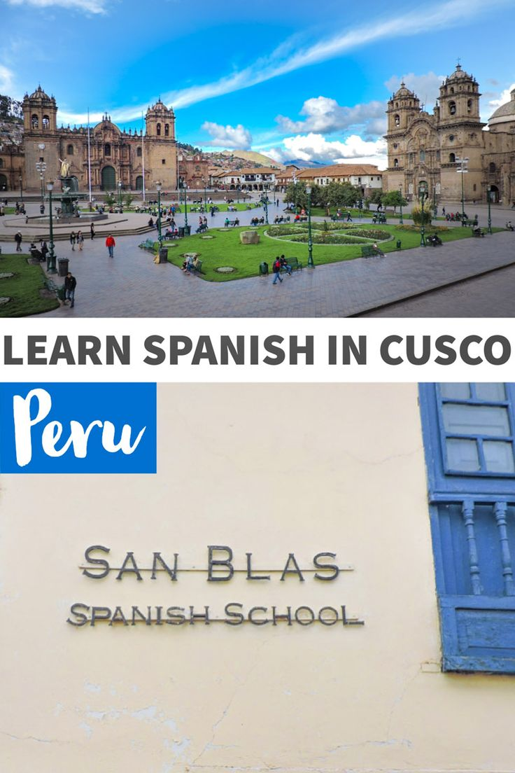 Learn Spanish in Cusco, Peru with San Blas Spanish School. Individual, group and homestay experiences #peru #southamerica