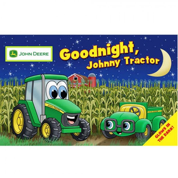 Goodnight johnny tractor toddler book books stickers toys collectibles rungreen