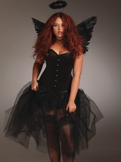 angel corset halloween costumes