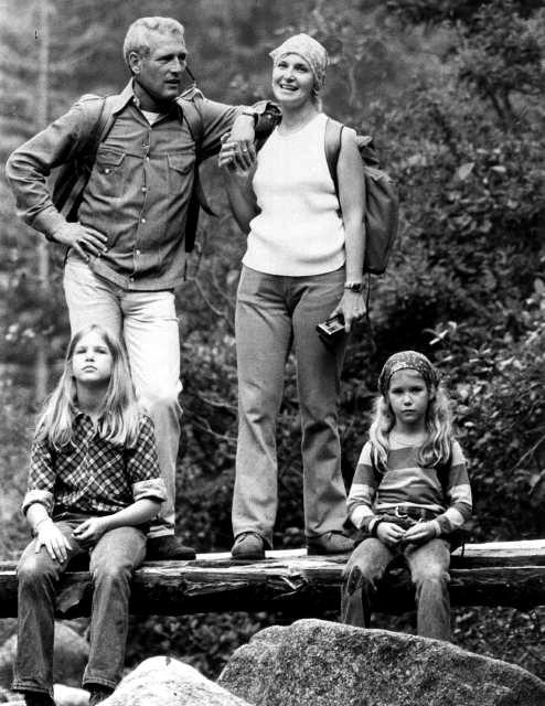 Paul Newman & Family