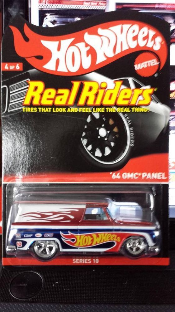 HOt WHEELS 64 GMC PANEL DELIVERY REAL RIDERS HUNT like RLC LIMTED SERIES 10