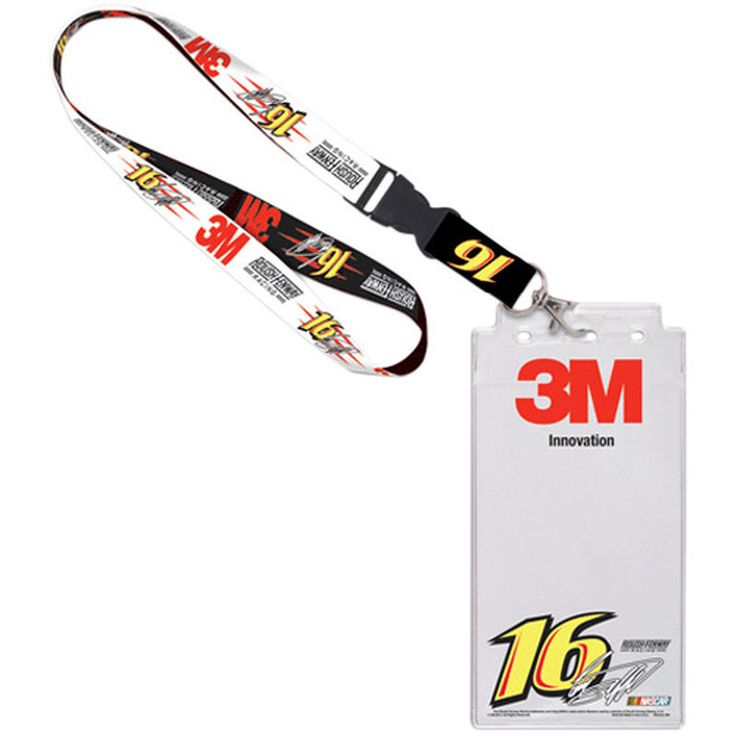 Greg Biffle Credential Holder with Lanyard