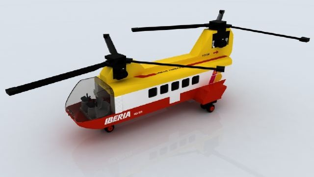 Helicóptero de Iberia