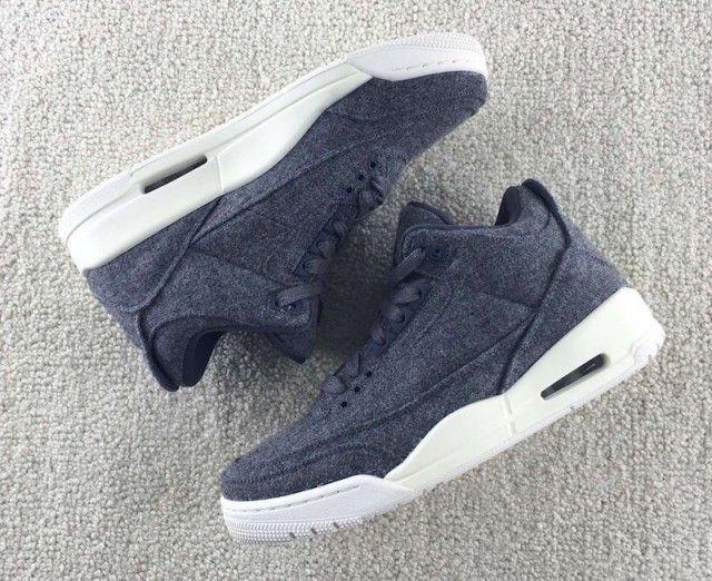 Detailed Images Of The Air Jordan 3 Wool