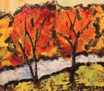 Albert Rousseau (1908-1982 ) was een Canadeze schilder-kunstenaar. Rousseau was een kunstenaar die voortdurend   experimenteert met verschillende texturen, materialen en technieken. Zijn talent voor het maken van het licht en kleuren worden erkend en gewaardeerd, door experts maar ook door het grote publiek. Hij produceerde schilderijen, aquarellen en terracotta.