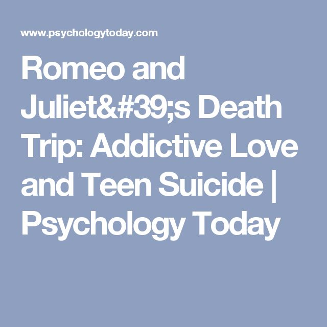 an analysis of the teenage suicide in psychology Sex differences in psychology are differences in the mental functions and behaviors of the sexes, and are due to a complex interplay of biological, developmental, and cultural factors differences have been found in a variety of fields such as mental health, cognitive abilities, personality, and tendency towards aggression.