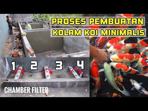 Kolam Koi Minimalis Proses Pembuatan Chamber Filter Agar Filterasi Maksimal Mudah Dalam Backwash Youtube Kolam Filter Koi