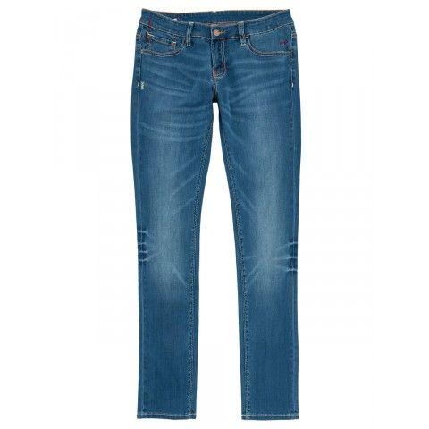 Light denim 5 pockets SUN68 Woman SS15 #SUN68 #SS15 #woman #jeans #denim