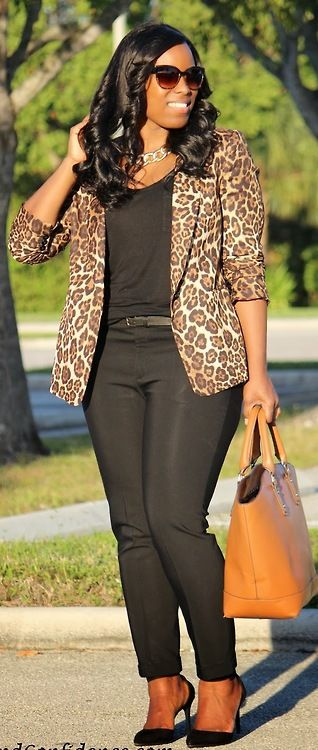 Leopard Obsession / Curves&Confidence