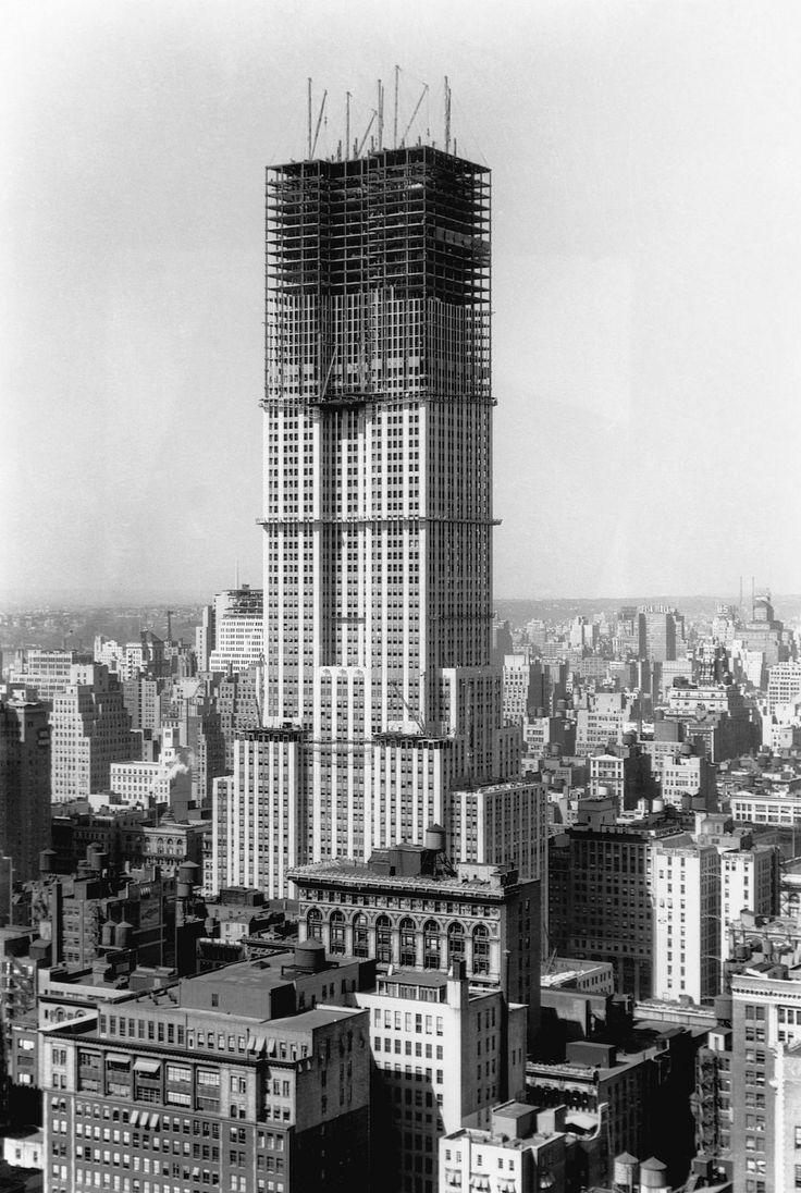 Empire State Building 1930 circa
