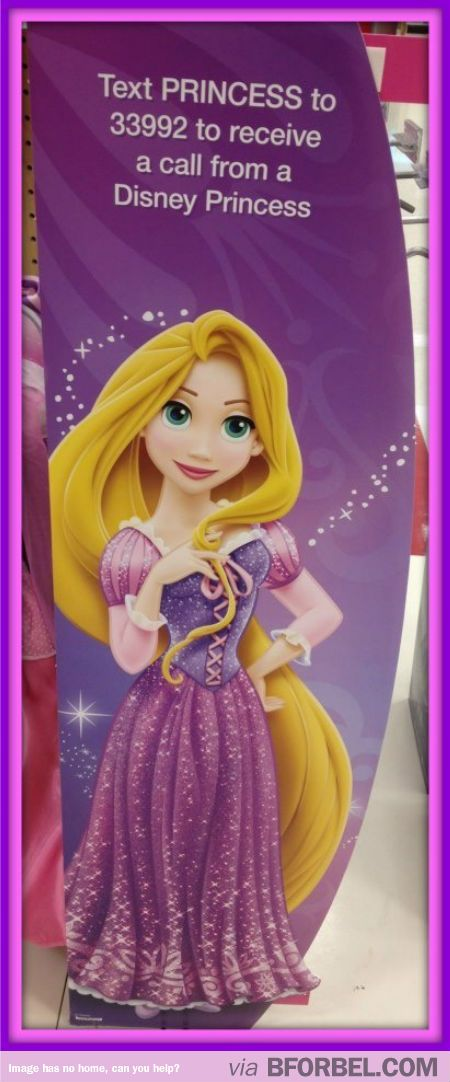 Did you know you can get a CALL from a Disney Princess?! Whaat