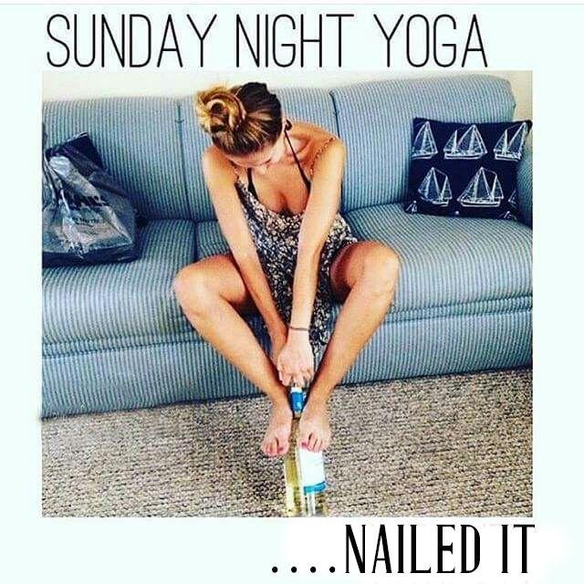 My kind of Yoga!!