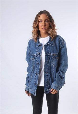 ca17e2011870a8 LEVIS DENIM JACKET OVERSIZED | WISHLIST | Jackets, Oversized denim ...