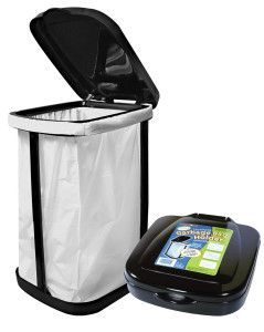The Thetford StorMate™ collapsible travel trash can! A must have for camping or RVing.