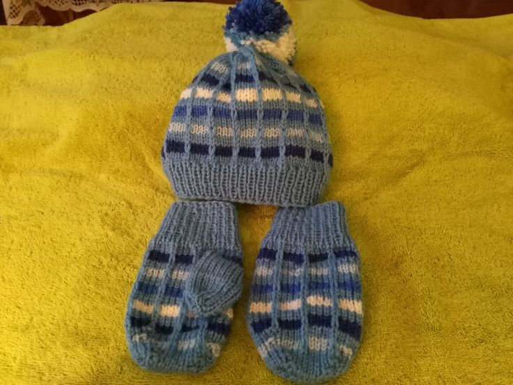 Hat and mittens for 3 year old