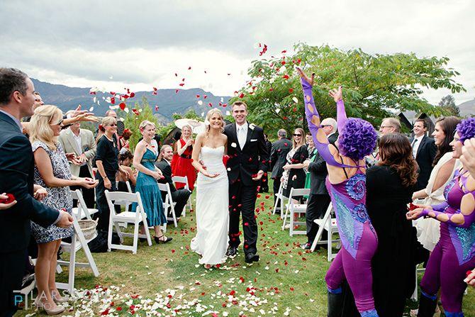 Wedding ceremony queenstown