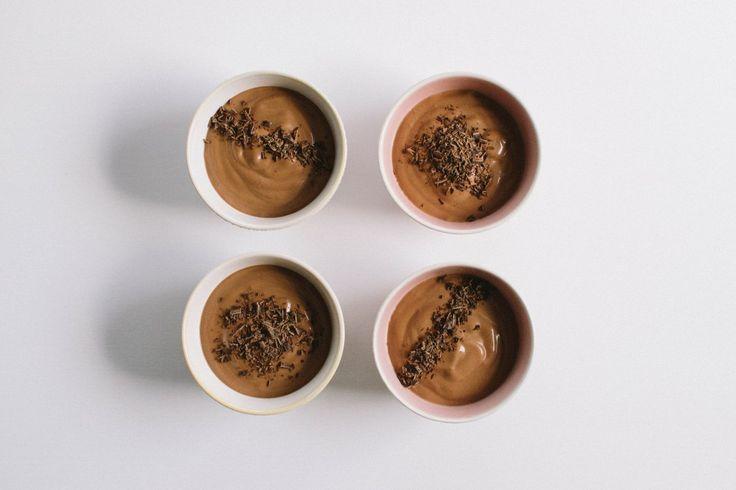 Mousse au chocolat végane // la simplicité