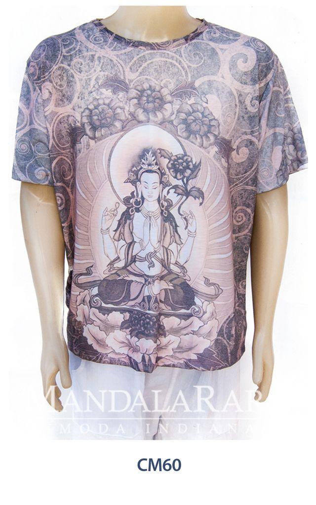 Compre online Camiseta masculina Deuses Hindus CM60 por R$69,00. Faça seu pedido, pague-o online e receba onde quiser.