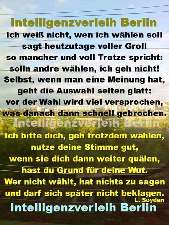 #Bundestagswahl #BTW2017 Wann ist die Stimme ungültig? Von Axel Witte  Wovon viele Menschen auf der Welt nur träumen können ist in Deutschland Usus: freie Wahlen. Trotzdem machen nicht alle mit was schade ist. Andere wollen zwar vermurksen aber die Stimmabgabe. Was auch schade aber vermeidbar ist.   Genau zwei Kreuze sind zur Bundestagswahl am 24. September 2017 vom Wähler gefragt: eins für die Erststimme mit welcher der Direktkandidat gewählt wird und das andere für die Partei…