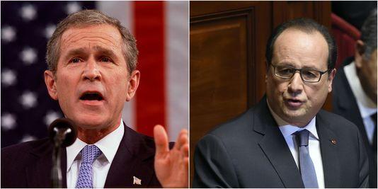 موقع اليوم السابع الموريتاني الاخباري - Après les attentats, les similitudes entre les discours de Hollande et de Bush en 2001__