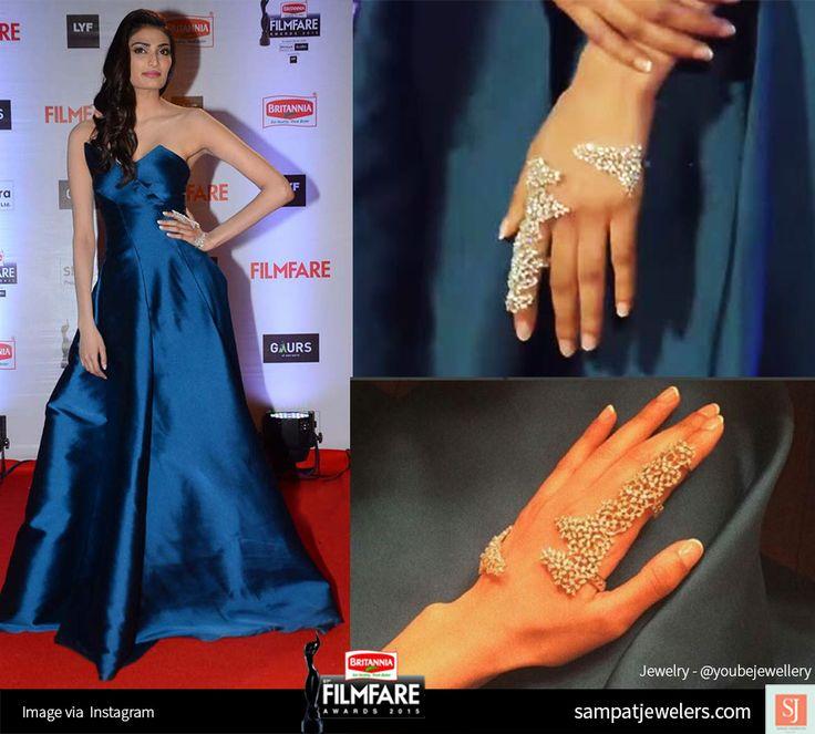 Athiya Shetty Filmfare Palm ring