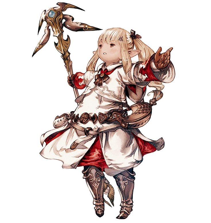 Final Fantasy XIV: A Realm Reborn - Lalafell White Mage