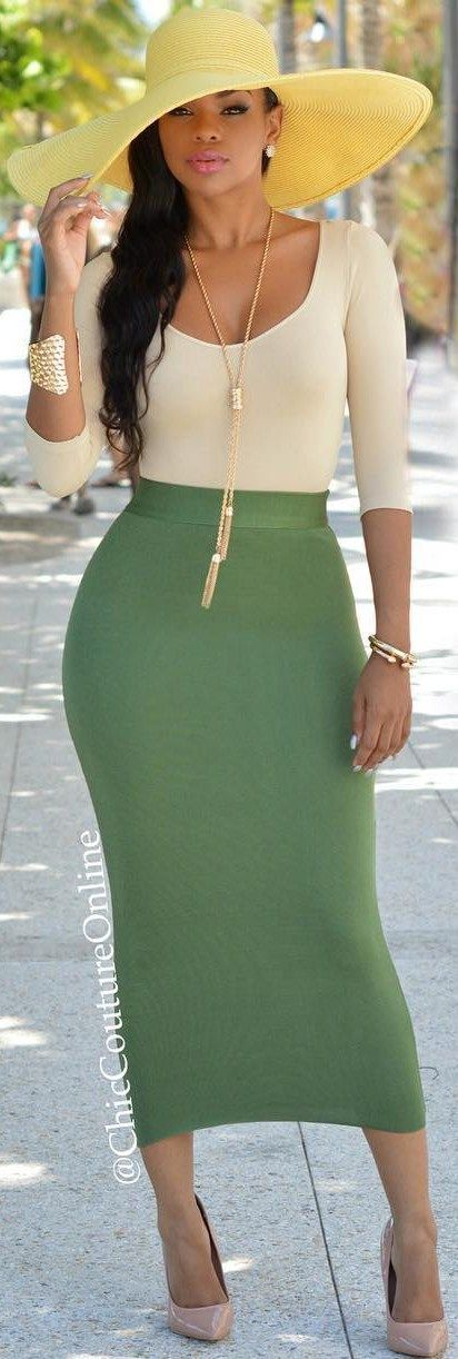 25  best Long tight skirt ideas on Pinterest | Long skirts, Long ...
