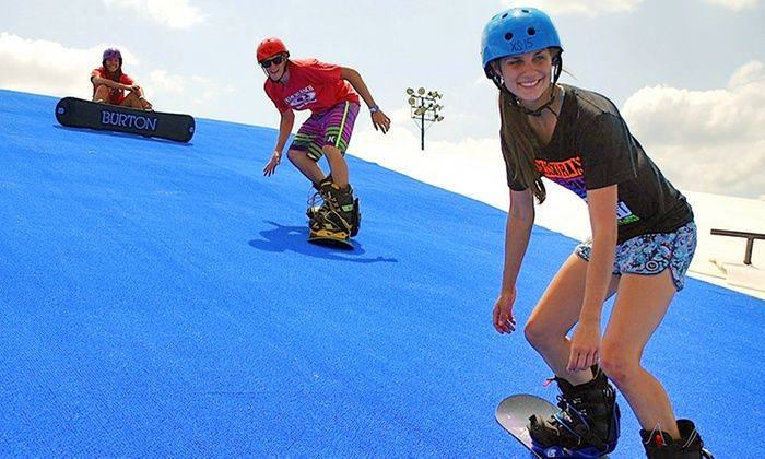 Texas Ski Ranch - Between San Marcos and New Braunfels: Half-Day of Tubing or Snowboarding, or a Two-Hour Snowboarding Lesson at Texas Ski Ranch (Up to 53% Off)