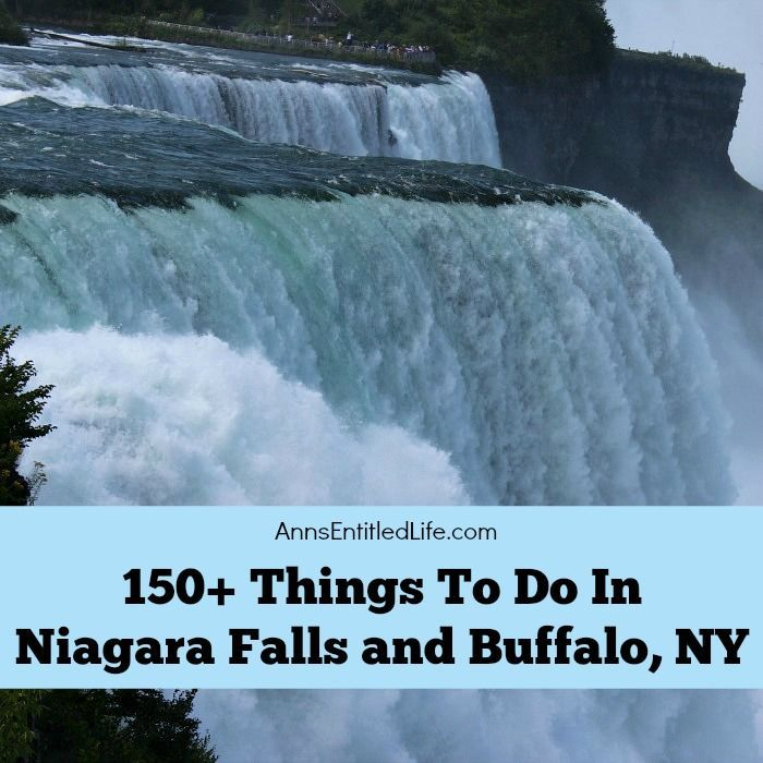 A list of 150+ Things To Do In Niagara Falls and Buffalo, NY that are (mostly) family friendly activities. From state parks to museums, to architecture and zoos, there is a lot to do in Niagara Falls, New York, Buffalo, New York, and all of Western New York.