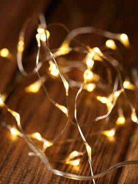 Lampki LED na baterie długość 195 cm / 30 LED