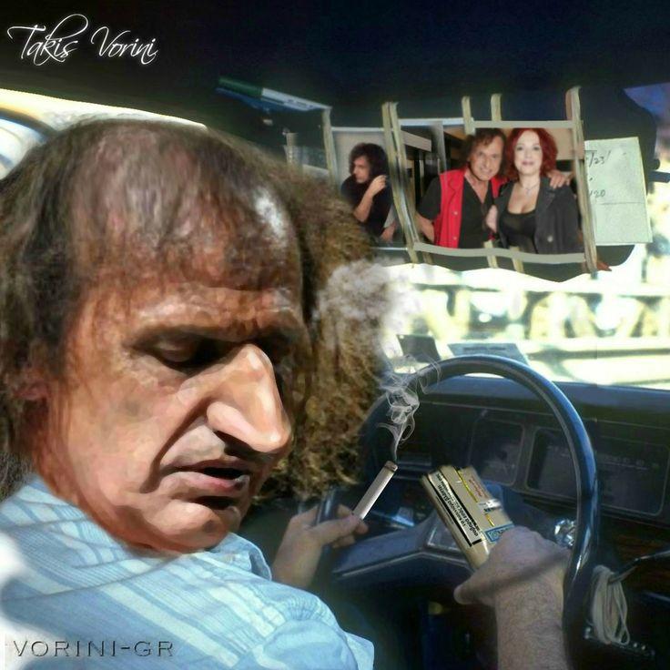 vorini-gr: Με τη μύτη οδηγεί πλέον ο Βασίλης Παπακωνσταντίνου όταν στρίβει τσιγάρο