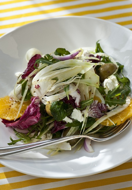 fennel and orange salad with sheep milk feta by Trupp Photography, via Flickr