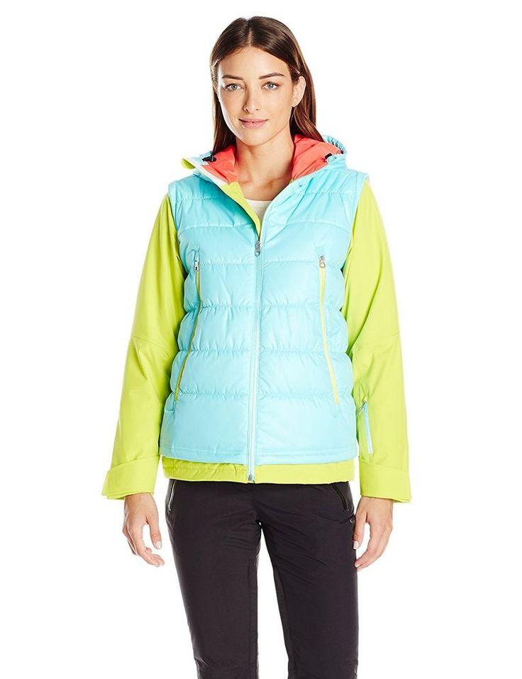 Spyder Women's MOXIE ski snowboard Jacket Womens US size 12  UK size 14 / 16