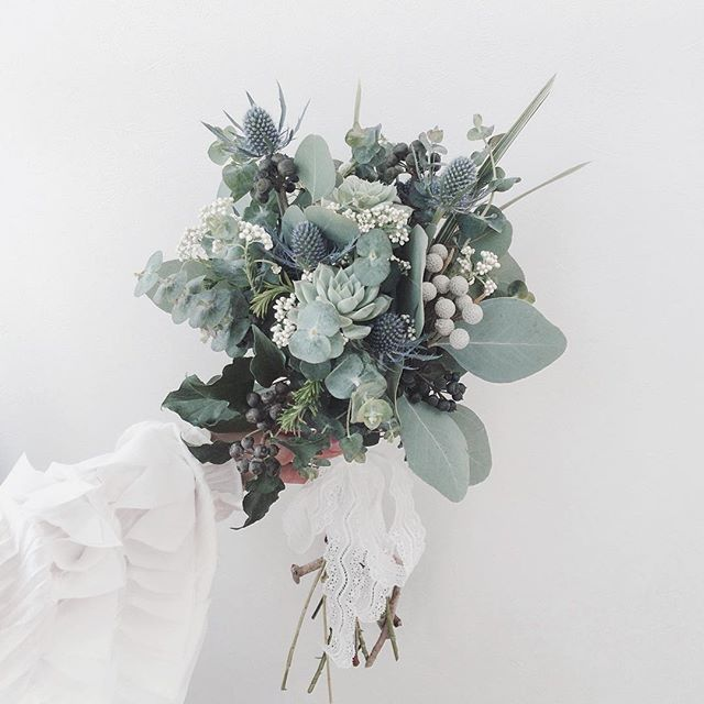 love these for the green family colors to balance brighter colors of flowers