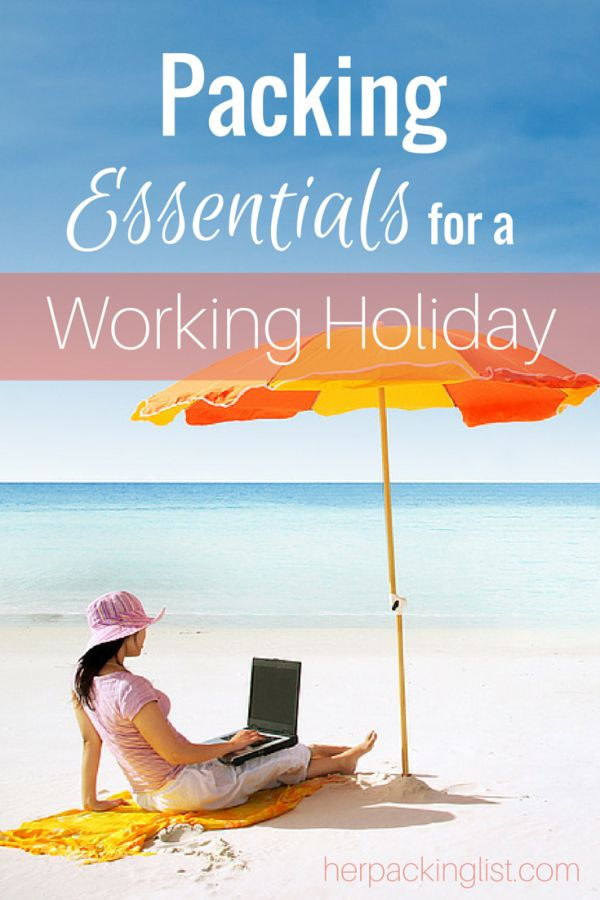 Packing Essentials for a Working Holiday - whether you've got a WHV for working in Australia, New Zealand, the UK, etc. This list will help get you sorted and packed!