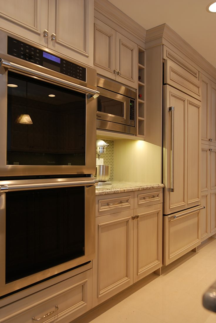 Built In Refrigerator Microwave Double Oven Wall In