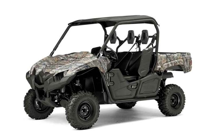 New 2016 Yamaha Viking Realtree Xtra w/Suntop ATVs For Sale in Florida. 2016 Yamaha Viking Realtree Xtra w/Suntop, SMOOTH AND QUIET MEET HARD WORKING A quieter, smoother cabin combined with class-leading off-road capability. Translation: Chore-tackling comfort for three! ADDITIONAL FEATURES Service Accessibility: The engine is located under the cargo bed and can be easily accessed when the bed is lifted. Center hood access for battery and other electrical components eases maintenance…