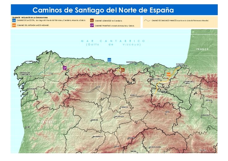 La UNESCO incluye los Caminos de Santiago del Norte en la lista del Patrimonio Mundial.