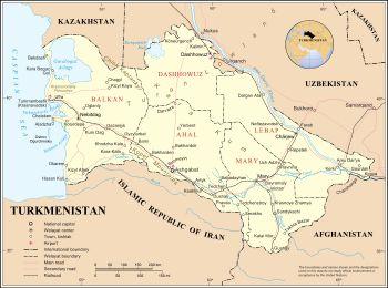 Turkmenistan - Wikipedia