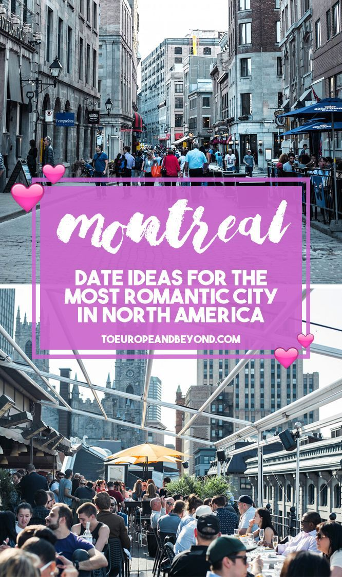Here are 42 romantic things to do in Montreal with your significant other, either on a conventional date night or to celebrate a special occasion. #travel #Canada #Montreal